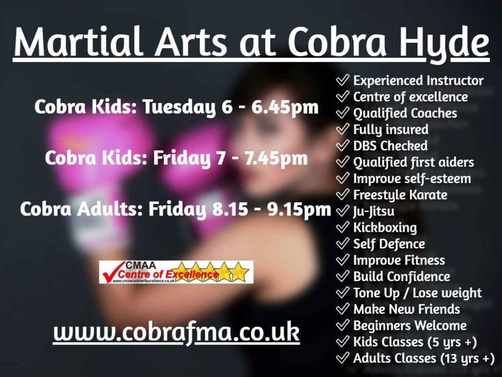 Cobra Martial Arts Hyde